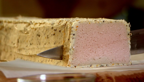 Raymond Blanc chicken liver parfait on Saturday Kitchen