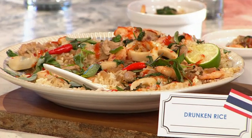 John Gregory-Smith drunken rice Bangkok street food on Sunday Brunch