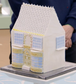 Kate's dream restaurant 3D cake on The Great British Bake off for the new year