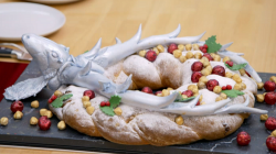 Steven's stag night stollen on The Great British Bake off for the new year