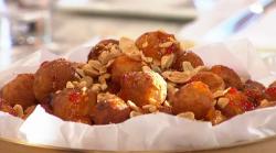 John Gregory-Smith crispy fried taro balls Bangkok street food on Sunday Brunch