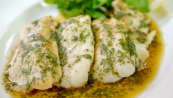 James Martin Dover sole with watercress and a butter and parsley sauce  on James Martin's  ...