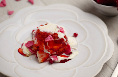 Simon Rimmer's Elderflower and Strawberry Jelly on Sunday Brunch