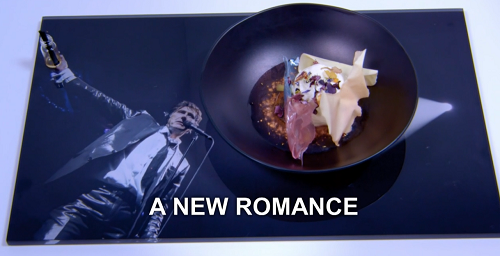 Kray Treadwell's new romance dessert on the Great British Menu