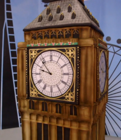 Rosie's Big Ben Cake on Extreme Cake Makers