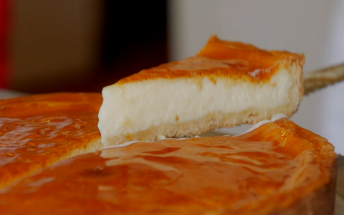 Nabil's lemon tart with marmalade on Mary Berry's Quick Cooking