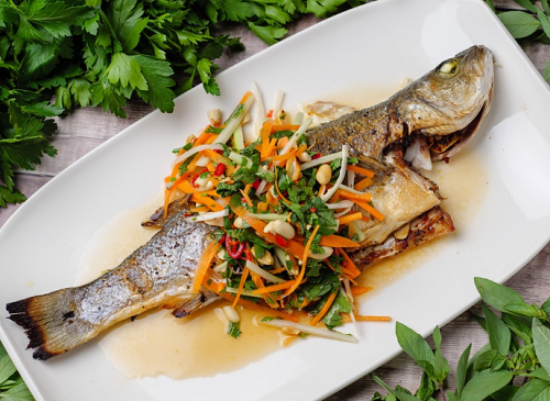 Simon Rimmer's Vietnamese Style Sea Bass on Sunday Brunch