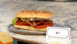 Max Halley's BLT sandwich on Sunday Brunch