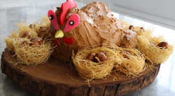 Tilly's Broody Hen Cake on Matilda and the Ramsay Bunch