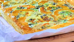 Jane Beedle's butternut squash with blue cheese savoury tart  on John and Lisa's Wee ...
