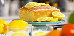 Nadia Sawalha gin and tonic cake on John and Lisa's Weekend Kitchen