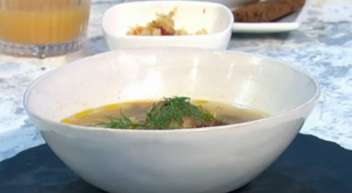 Alissa Timoshkina's Russian shchi soup on Sunday Brunch