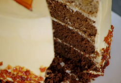 Gordon Ramsay's salted caramel gateaux on Matilda and the Ramsay Bunch