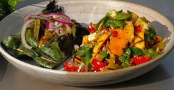 Jane Baxter's Mexican tikin zic fish dish on Saturday kitchen