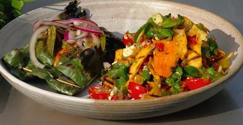 Jane Baxter's Mexican tikin zic fish dish on Saturday kitchen