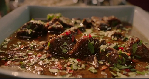 Nigella Lawson's short ribs with hoisin sauce on Saturday Kitchen