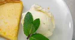 Vicky Pattison's orange and lemon pastry tart with Chantilly cream on Celebrity Masterchef ...