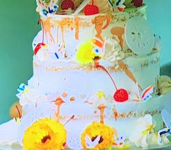 David's amaretto sour cake on the Great British Bake Off 2019