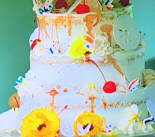 David's amaretto sour cake on the Great British Bake Off 2019