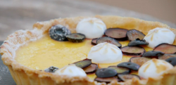 Steph's zesty citrus custard pies  on the Great British Bake Off 2019