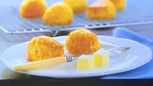 Daniel Clifford Nan's cheese scones on My Favourite Dishes