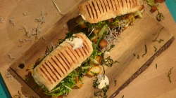 Max Halley's Chinese takeaway sandwich on Sunday Brunch