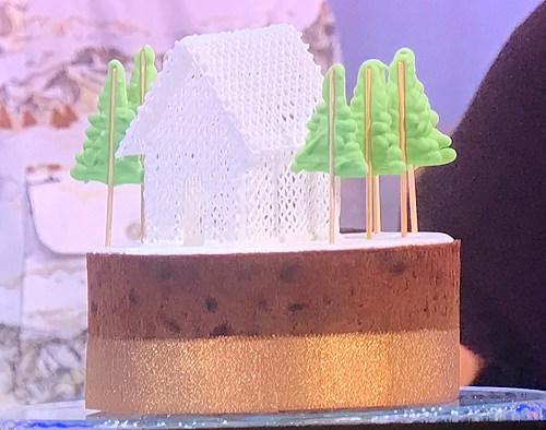 Henry's orange fruit cake on The Great British bake Off Extra Slice