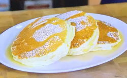 Nathan Rich's souffle pancakes on Tom Kerridge's America