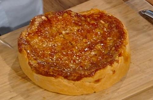 Matt Tebbutt almond cake with marmalade jam and on Saturday Kitchen