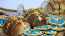 Eliza's buzzy Biscuits and Buns on Junior Bake Off 2019