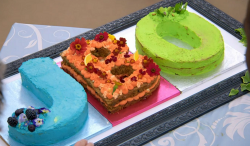 Aleena's dream come true cake on Junior Bake Off 2019 final