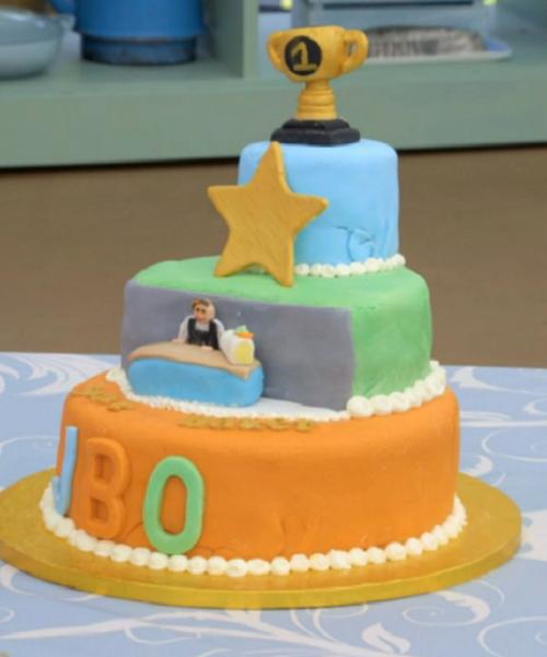 Fin's the winner bakes it all cake on Junior Bake Off 2019 ...