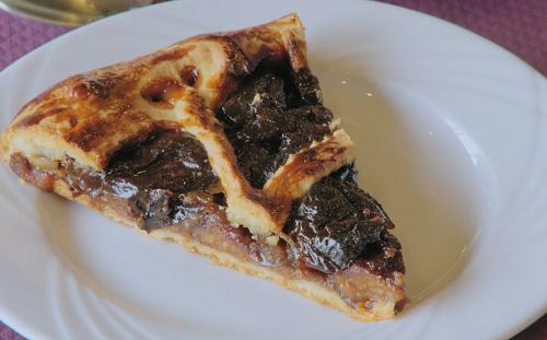 Dominique's French prune tart on Rick Stein's Secret France