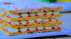 Prue Leith's French Mille-feuille on Junior Bake Off 2019