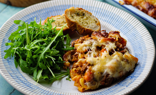 Simon Rimmer's Baked Macaroni Ragu on Sunday Brunch