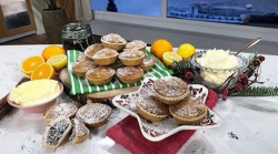 Phil Vickery's homemade mince pie with satsuma skin marmalade on This Morning