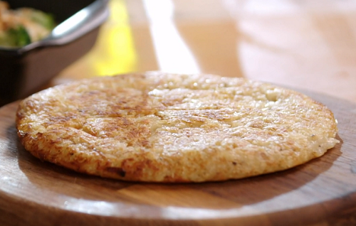 John Torode's Potato Rostis on John and Lisa's Weekend Kitchen