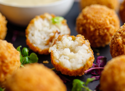Simon Rimmer's Sticky Rice and Crab Fritters on Sunday Brunch