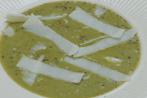 Marty's sorrel soup on Rick Stein's Secret France