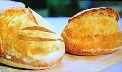 Richard Bertinet's sourdough bread on Beautiful Baking with Juliet Sear