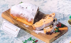 Jack Sturgess traditional German stollen with marzipan on Sunday Brunch