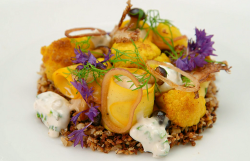 Yan's  cauliflower with pecan nuts dish on MasterChef The professionals 2019