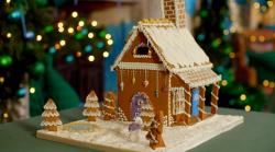 Harriet's gingerbread cottage on Kirstie's Handmade Christmas