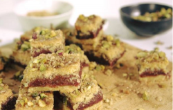 John Gregory-Smith's Maamoul mad (date and cinnamon squares)  on Beautiful Baking with Jul ...