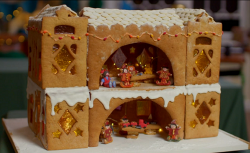 Susie's Santa' workshop HQ on Kirstie's Handmade Christmas