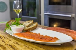 James Martin  Whisky Cured Salmon with Mustard Mayonnaise on James Martin's Saturday Morning