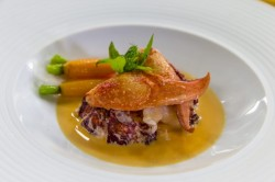 John Williams steamed lobster with a ginger broth on James Martin's Saturday Morning