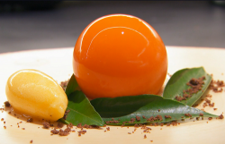 Jose Avillez's mandarin dessert on MasterChef The Professionals 2019