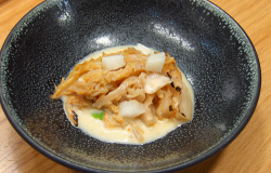 Jose Avillez's meat and cabbage stew cooked by Stu on Masterchef The Professionals 2019
