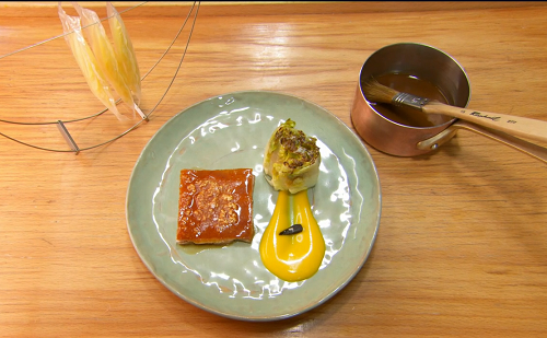 Jose Avillez's suckling pig cooked by Exose on Masterchef The Professionals 2019